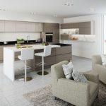 kitchen installed in preston