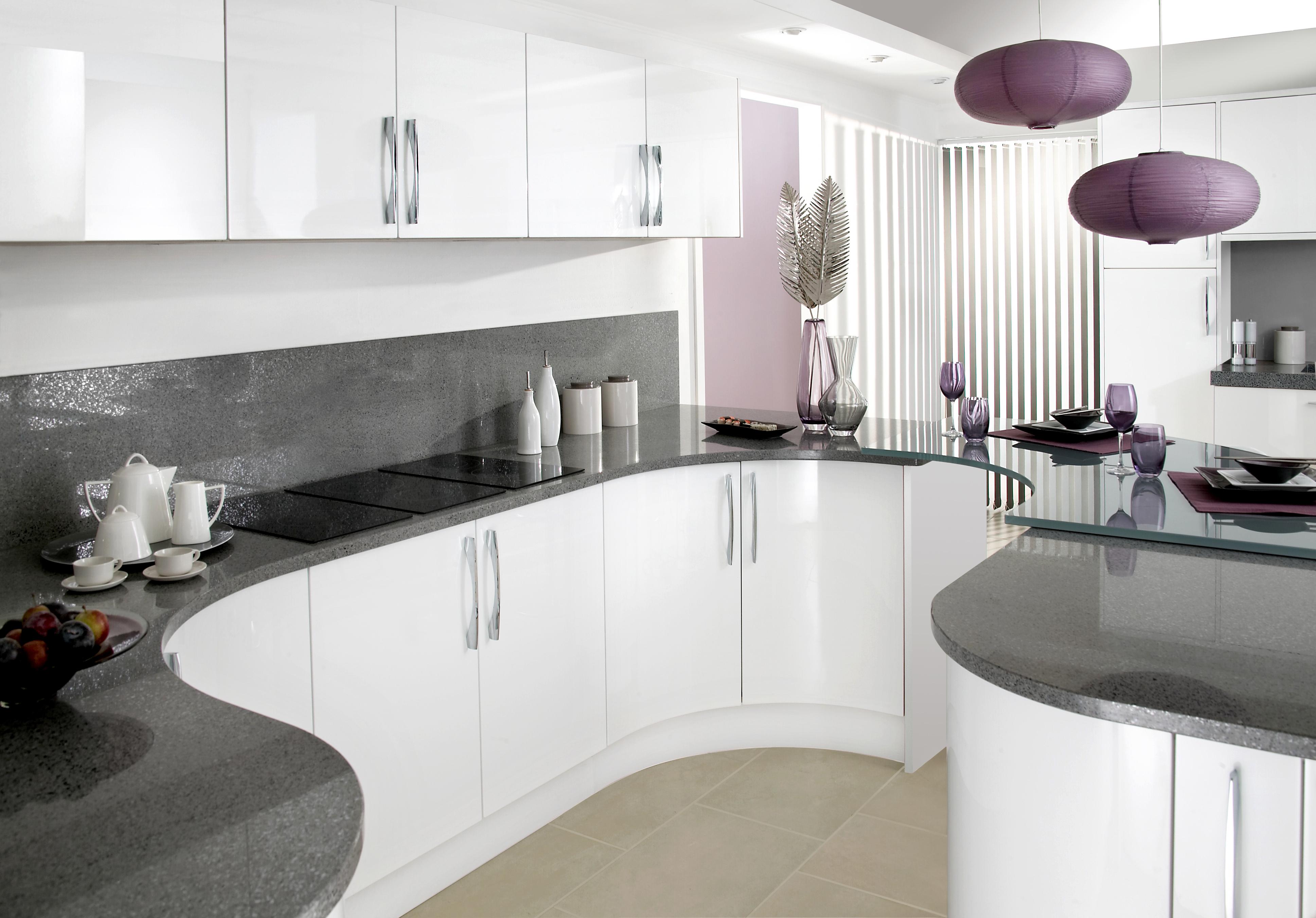 White Gloss Kitchen Designs Kitchens Renovations Liverpool Area Kitchen Design Liverpool