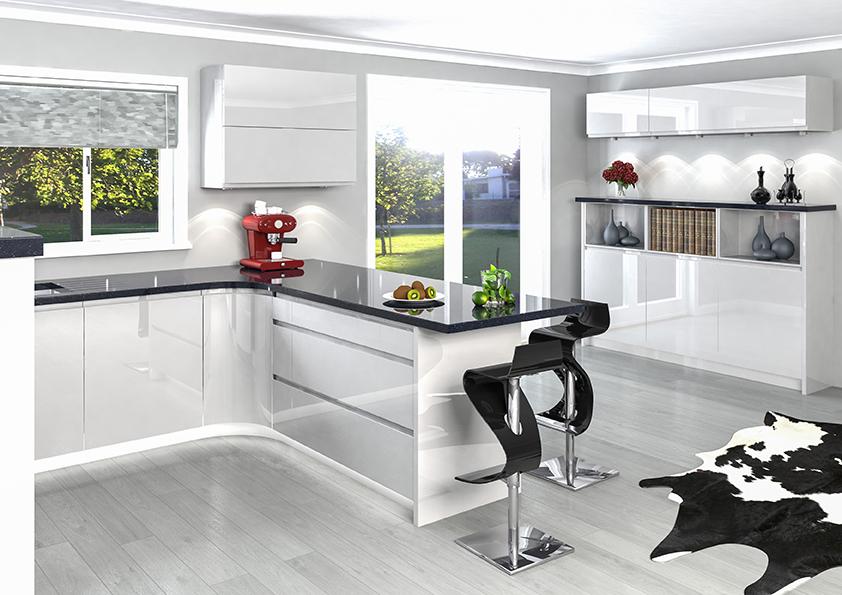 High Gloss Kitchen Doors Liverpool